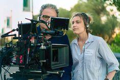 Greta Gerwig directing LADY BIRD (2017)