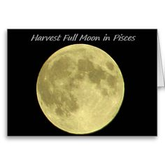 """The Harvest Full Moon in Pisces Blank Greeting Card by KJacksonPhotography --  Taken 09.08.2014 The Harvest Full Moon In Pisces. The last full moon of the summer season, this moon is also the third in a trilogy of """"supermoons"""" this summer.PC:185.222 #nature #photography #fullmoon #harvestmoon #greetingcard #greetingcards"""