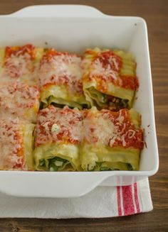 Way back when, in the practically prehistoric days of the Internet (I'm talking 2009 here), we ran a reader recipe contest. Quick Weeknight Meals gave us a nice collection of really memorable and delicious weeknight meals. Here's one of my personal favorites: Nicole's lasagna roll-ups, which boast the trifecta of being easy, quick, and rather good for you. Upon retesting, these pasta pinwheels turned out to be one of the easiest (and tastiest) dinners I've made all month, and ...