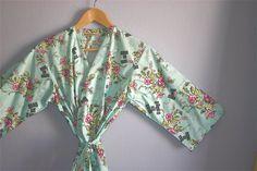 Bridesmaids Robe. Kimono Robe. Dressing Gown. by ModernKimonoRobes