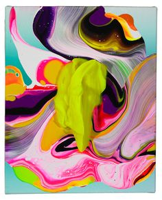 Yago Hortel Abstract Painting