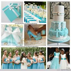 Tiffany Wedding Favors | ... wedding colors , Tiffany blue and white , Wedding color schemes