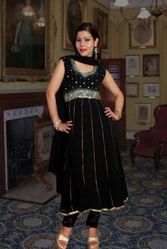 Anarkali Suit Embroidered.
