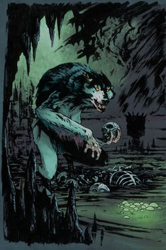 Querio werewolf by SpicerColor.deviantart.com on @deviantART