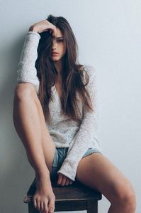 Long sleeve knitwear with jeans shorts . - Long sleeve knit top with jeans shorts – …, - Model Poses Photography, Photography Women, Lifestyle Photography, Hair Photography, Photography Backdrops, Dreamy Photography, Photography Backgrounds, Summer Photography, Photography Lighting