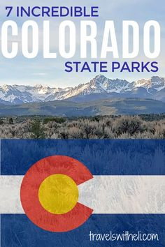 Planning a camping trip in Colorado? This guide will help you pick the perfect campground in one of these seven amazing Colorado State Parks. Tips on what to do, best campsites, available recreation activities, hiking, and a helpful map. #colorado #campingtrip #campgrounds #travelswitheli Colorado River, Colorado Mountains, Travel With Kids, Family Travel, Colorado National Monument, Sylvan Lake, Parks Department, Lake View, Day Trips
