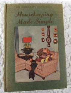 Vintage  The Homemaker's Encyclopedia Housekeeping by YzTreasures