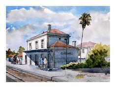 Estação - Carregal do Sal Mansions, House Styles, Home Decor, Fotografia, Decoration Home, Room Decor, Fancy Houses, Mansion