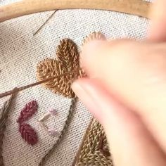 """Embroidery.world on Instagram: """"#Repost @joooyco with @make_repost ・・・ 💕🐛☘️ Cretan stitch ☘️🐛💕 → Full tutorial on #joooycoyoutubechannel , , , , , #joooycoembroidery…"""" Hand Embroidery Stitches, Embroidery Techniques, Applique, Photo And Video, Instagram Repost, 1, Crewel Embroidery, Embroidery Stitches, Stitching"""