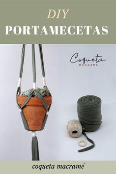 Macrame Plant Hanger Patterns, Pot Hanger, Macrame Design, Macrame Tutorial, Knots, Diy Crafts, Fabric, Beads, Beautiful Good Night Images