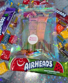 Each bundle contains lipgloss that will keep your lips moisturized, healthy, and most importantly- glossy! Candy Includes: 3 Jolly ranchers, Starburst candies, and 1 airhead bar. Unicorn Themed Birthday Party, Diy Birthday, Birthday Party Themes, Glitter Lip Gloss, Diy Lip Gloss, Business Baby, Business Goals, Business Ideas, Lip Gloss Containers