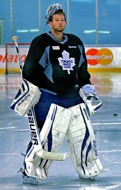 James Reimer • Toronto Maple Leafs Ice Hockey Teams, Hockey Goalie, Hockey Players, Hockey Stuff, Sports Teams, Nhl, James Reimer, Maple Leafs Hockey, Air Canada Centre