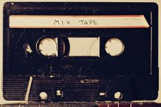 A mix tape would be such an awesome gift to give or receive.