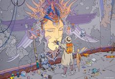How Moebius revolutionised comic art | Illustration | Creative Bloq