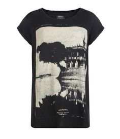 Temple T-shirt, Women, Graphic T-Shirts, AllSaints Spitalfields    One of the only graphics I really liked this Spring season by All Saints.    $75
