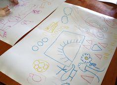 Five Little Guys: Simon Says Art