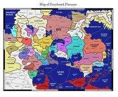 greyhawk map in full by kalshanndeviantartcom on deviantart