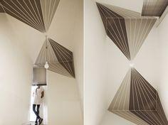 I muri dipinti della designer Lucia Andrea Forni