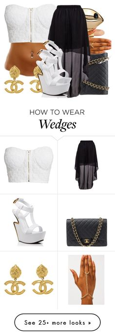 """Grip///Tessa Thompson"" by maiyaxbabyyy on Polyvore featuring AERIN, Chanel, STELLA McCARTNEY, NLY Trend and Giuseppe Zanotti"
