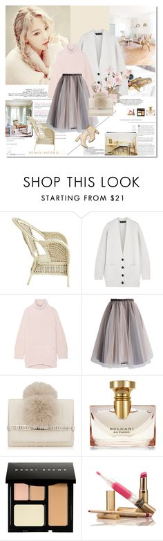 """""""Living Tenderly.."""" by rainie-minnie ❤ liked on Polyvore featuring Made of Me, Pier 1 Imports, Proenza Schouler, Chalayan, Chicwish, STELLA McCARTNEY, Jimmy Choo, Bulgari and Bobbi Brown Cosmetics"""