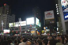 Yonge & Dundas City Streets, Toronto, Times Square