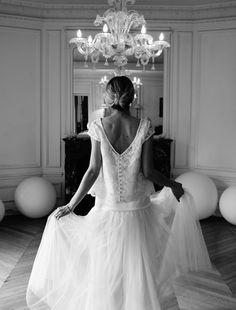 robe de mariée Elise Hameau modèle Virginie+Laetita
