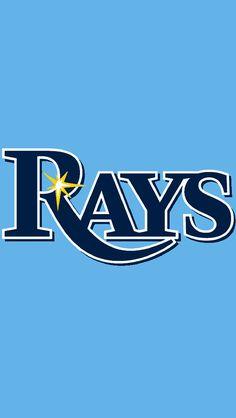 Mlb Team Logos, Mlb Teams, Baseball Teams, Baseball Stuff, Sports Logos, Rays Logo, Mlb Uniforms, Minor League Baseball, Major League