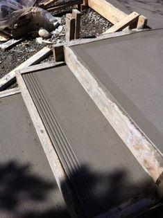 Concrete Patio Designs, Concrete Stairs, Concrete Driveways, Concrete Projects, Landscape Stairs, Landscape Design, Path Design, Garden Design, Design Ideas