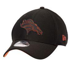 Denver Broncos New Era 2018 Training Camp 39THIRTY Flex Hat – Black cc3642fb8a23