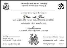 Indian wedding invitation wording template puneet pinterest hindu wedding cards wordings hindu wedding invitations wordings filmwisefo
