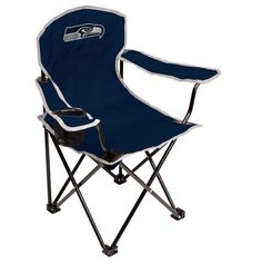 NFL Seattle Seahawks Kids' Tailgate Chair Child Safety Lock With Cup Holder NEW #Rawlings
