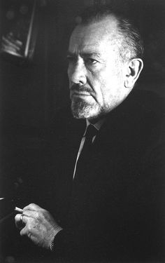 He loved humanity, he is  my favorite author from the 20 century. John Steinbeck, smoking, Paris, 1961 © Gisèle Freund