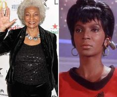 'Star Trek' star Nichelle Nichols 'in good spirits' after stroke Nichelle Nichols  #NichelleNichols