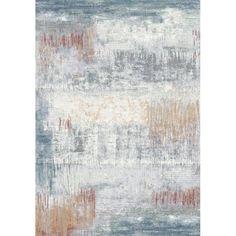 Dynamic Rugs Twilight Multi Blue Rug (7'10 x 10'10) (7.10 x 10.10), Size 7' x 10' (Polypropylene, Abstract)