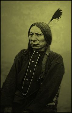 """I am poor and naked, but I am the chief of the nation. We do not want riches but we do want to train our children right. Riches would do us no good. We could not take them with us to the other world. We do not want riches. We want peace and love.""  – Chief Red Cloud"