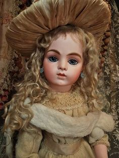 ~~~ Outstanding French Bisque Bebe by Leon Casimir Bru size 11 ~~~ (item #1375227)