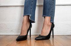 DIY Step-Hem Jeans | Style Stories
