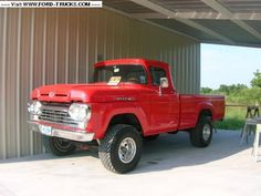 1960 Ford F100 4x4 - 1960 f100, my all time favorite truck.