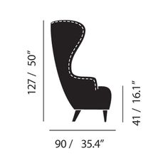 chair measurements - Google Search Furniture Upholstery, Furniture Styles, Sofa Furniture, Sofa Chair, Upholstered Chairs, Custom Furniture, Furniture Design, Wingback Armchair, Stylish Chairs