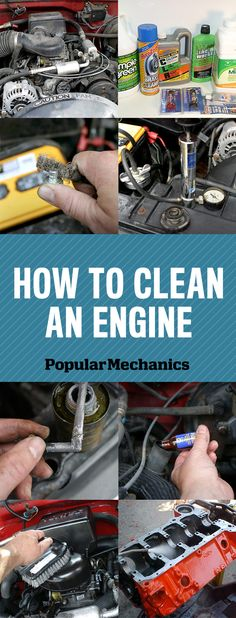 DIY Home Decor: How to Clean an Engine
