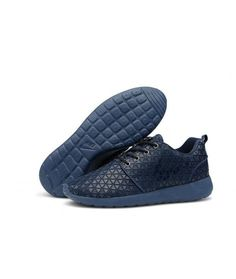 c111b0db2d148 Nike Roshe Run 2014 Commemorative Edition Mens Shoes Discount Navy Blue  Store Sale