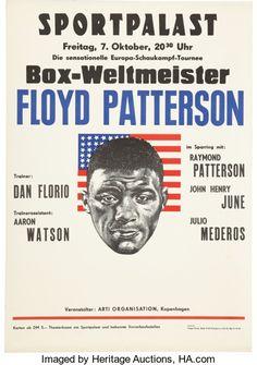 Circa 1960's Floyd Patterson
