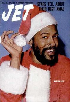 Super Seventies - Marvin Gaye as Santa Claus, Jet magazine, December...