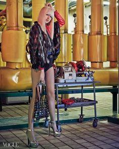 KOREAN MODEL • Choi Ara by Yoo Young Gyu for Vogue Korea Feb 2015
