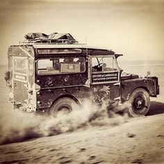Oxford and Cambridge Far Eastern Expedition Land Rover, 1955