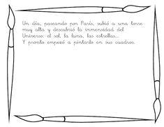 Conociendo a Miró. Frame, Bullet Journal, Spain, Cute Frames, Famous Art, Joan Miro, Artists, Index Cards, Classroom