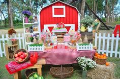 Chic Barnyard Birthday Party via Kara's Party Ideas KarasPartyIdeas.com Party supplies, tutorials, printables, giveaways and more! #barnyardparty #farmparty #barnyardbirthdayparty #chicbarnyardparty #chicpartyideas #karaspartyideas #farmpartyideas (22)