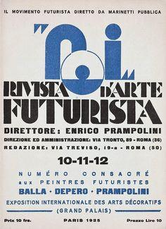 Enrico Prampolini, 1925