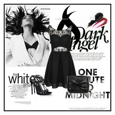 """""""Black set"""" by baby-manger ❤ liked on Polyvore"""