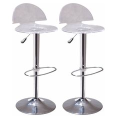 Mod Made Sphinx Adjustable Bar Stool in Clear - 2 Pack Home Bar Furniture, Accent Furniture, Furniture Deals, Modern Furniture, Counter Height Dining Table, Counter Bar Stools, Dining Room Bar, Small Space Design, Small Spaces